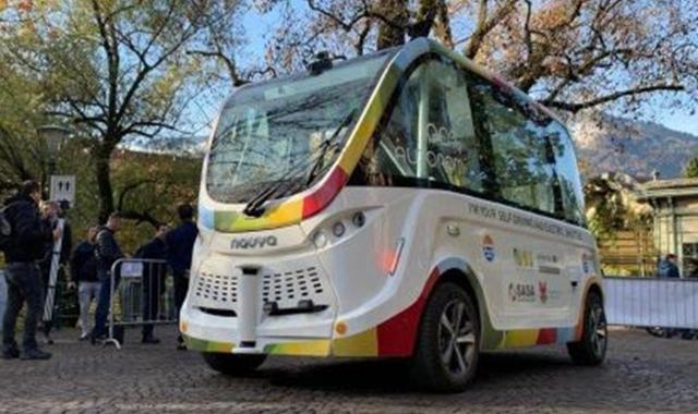 Bus senza autista, test a Merano