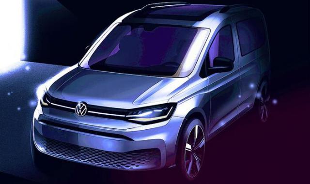 Volkswagen Caddy 2021, salto di qualità