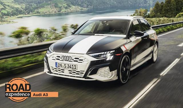 Nuova Audi A3 ultimi test alle Azzorre