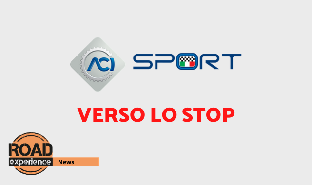 ACI Sport vicina allo stop fino ad aprile