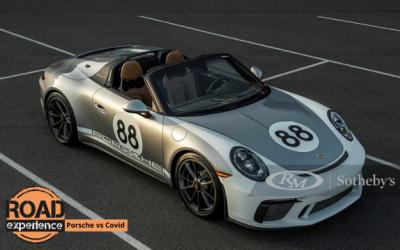 Porsche 911 Speedster all'asta contro il Covid-19