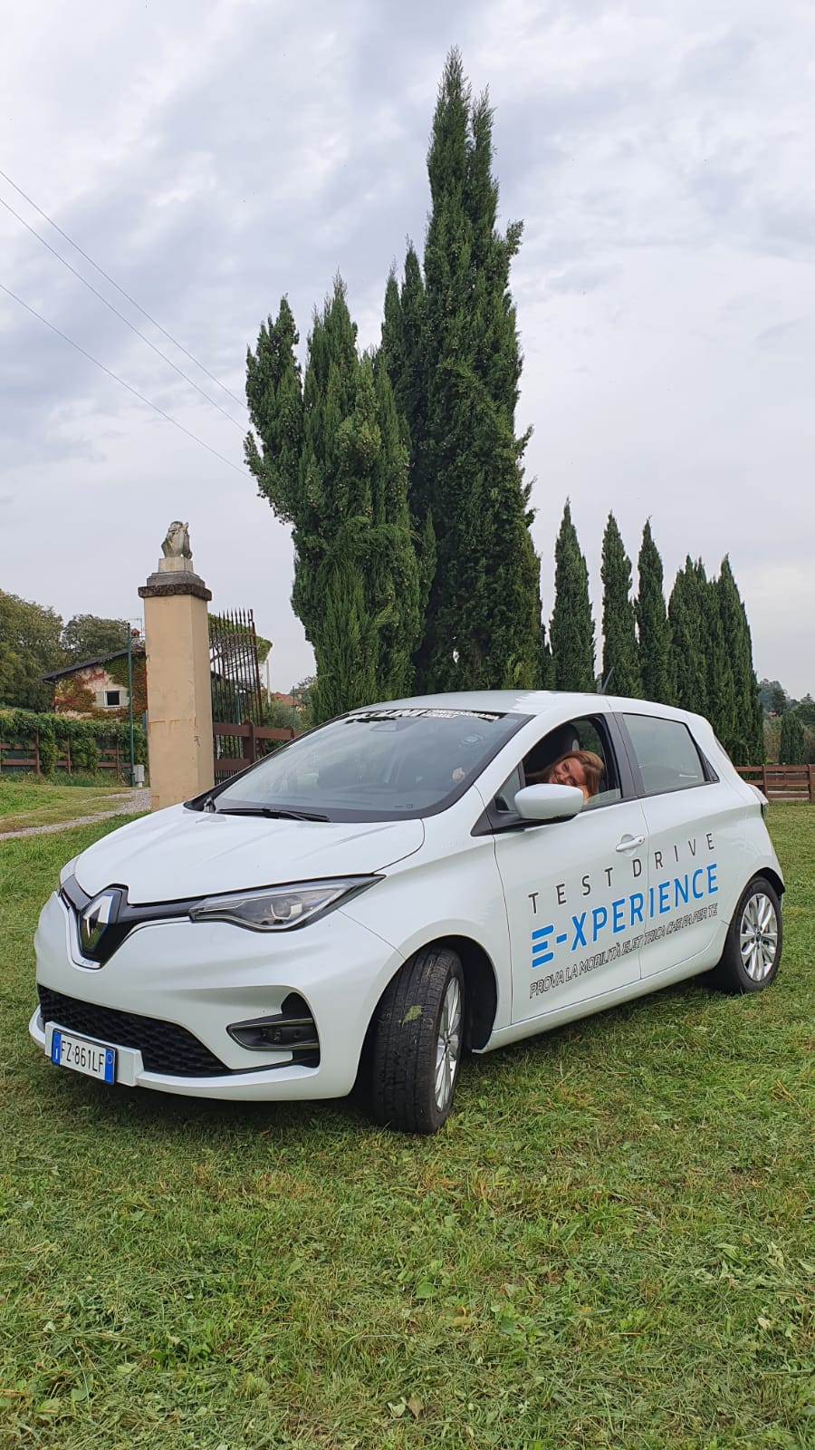 Renault Zoe R135 elettrica Paglini