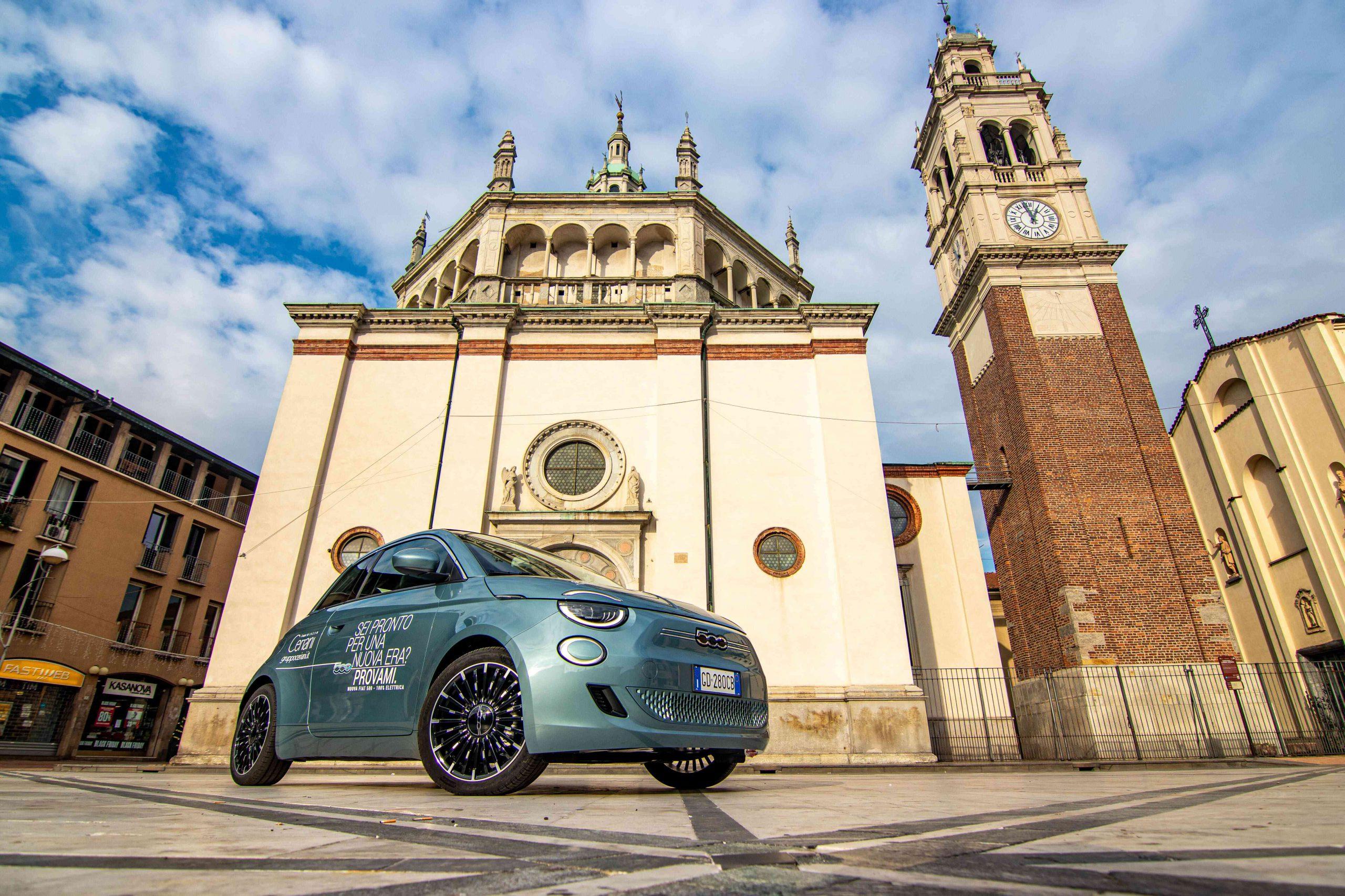 Fiat 500 elettrica Gruppo Ceriani