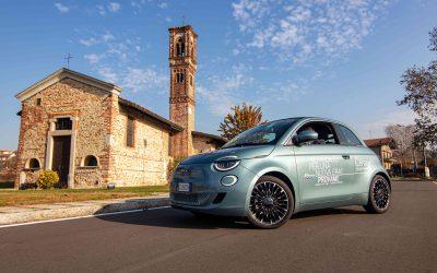 Fiat 500 elettrica Icon Cabrio
